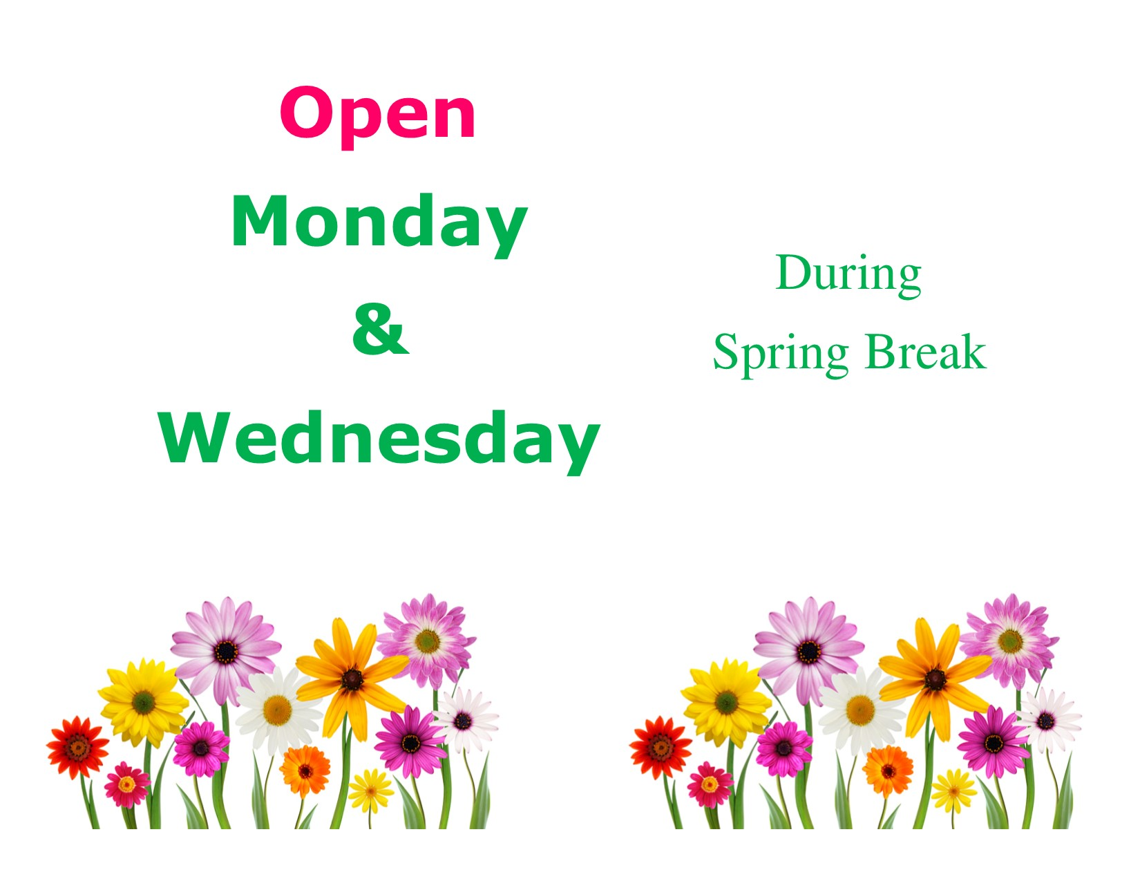 Dont Forget We Are Open Monday Wednesday Rolla Library Rolla Ks